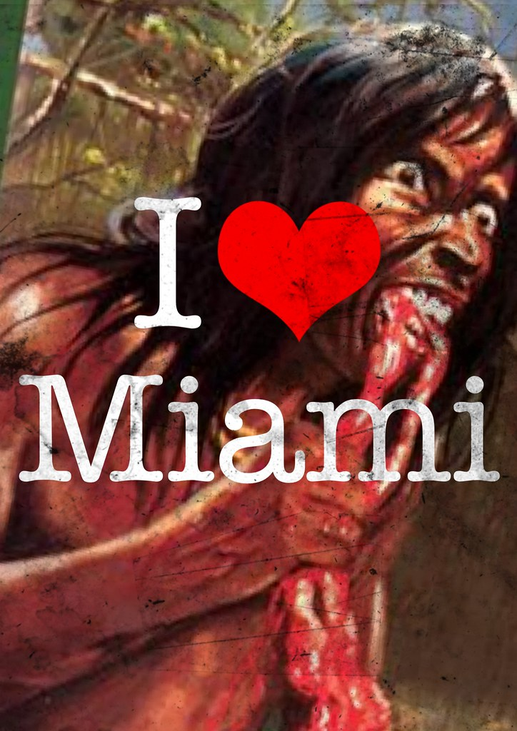 I HEART MIAMI POSTER