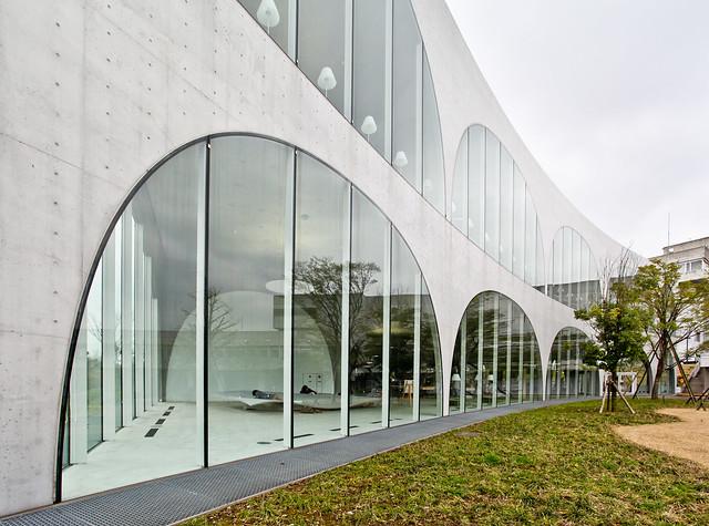 Tama Art University Library, Tokyo - Toyo Ito