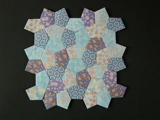 Cordovan pentagon quilt (opus XLV)