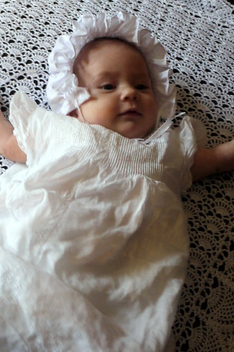 Claire's Baptism Day