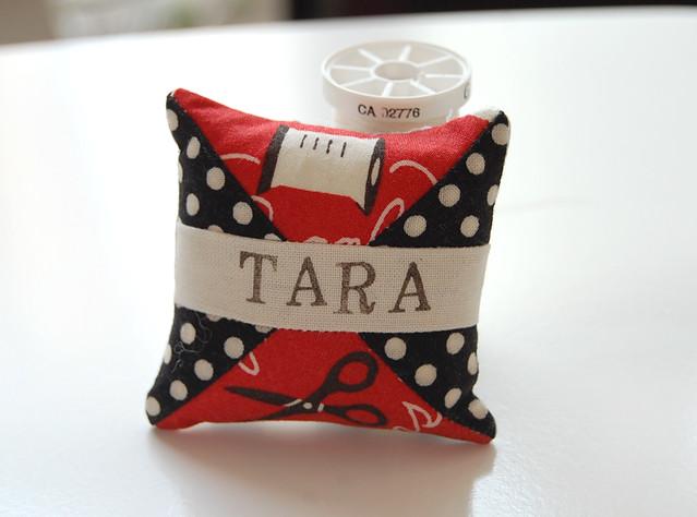Spool pincushion for Tara