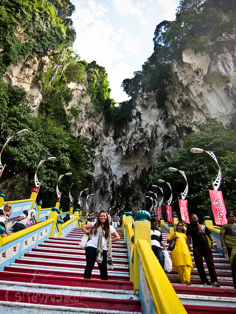 272 Steps at Batu Caves