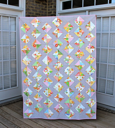 Dream On quilt - finished!