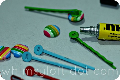 Tutorial :: Easy way to make cute HAIR CLIPS (2)