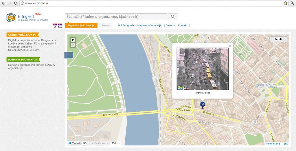 digitalna mapa grada beograda Infograd's most interesting Flickr photos | Picssr digitalna mapa grada beograda