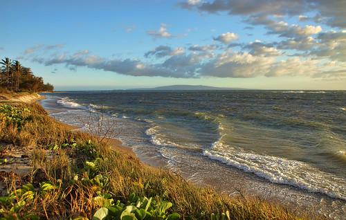 ocean sea sky seascape beach nature clouds hawaii scenic maui coastline peggy ©allrightsreserved ©peggyhughes may2012