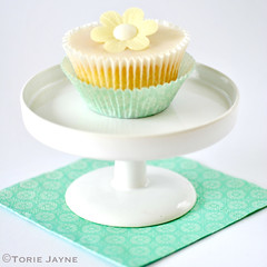 Gluten free Lemon drizzle cupcake