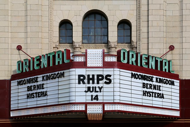 Oriental Theater Marquee