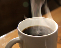 coffee steam 1