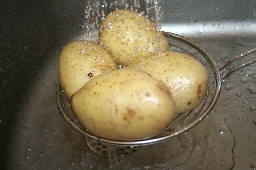 13 - Kartoffeln abschrecken / Refresh potatoes