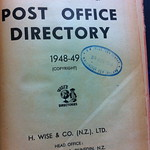 New Zealand Post Office Directory 1948-49