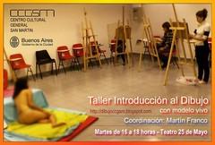 taller Introducción al Dibujo con modelo vivo by dibujoccgsm
