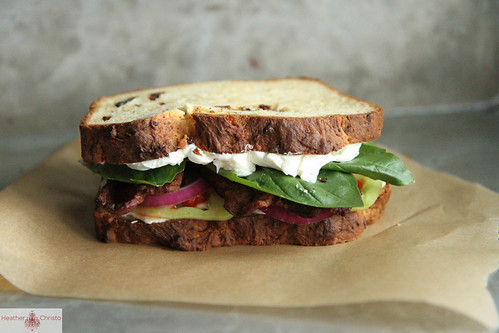 "BLT Sandwich ""all dressed up"""