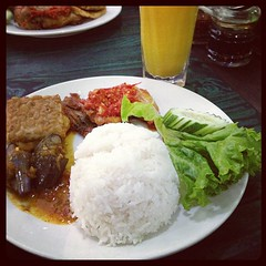 Lunch at wong solo