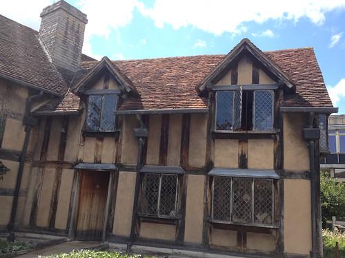 Casa natal de Shakespeare en Stratford-upon-Avon