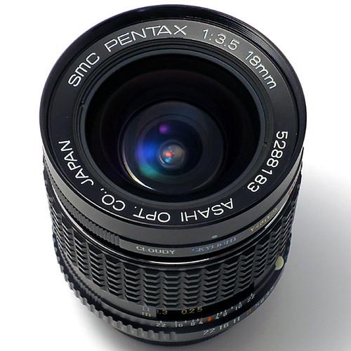 SMC ペンタックス 18mm F3.5
