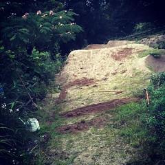 今日は久しぶりにホワイトレーンの作業。#bmx #trails