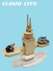 Micro Star Wars: Cloud City Landing Pad