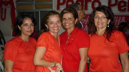 Lais Alho Sa, Maria Clara Imbiriba, Ana Elvira e Dea Paula Alho