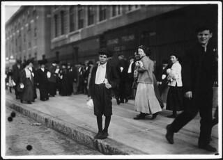 Carmino Fascinoe, a worker in Ayer Mill. Lawrence, Mass, September 1911