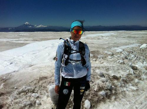 Nahila Hernandez en el Cruce de los Andes 2011
