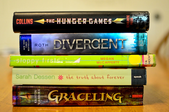 my top five young adult books