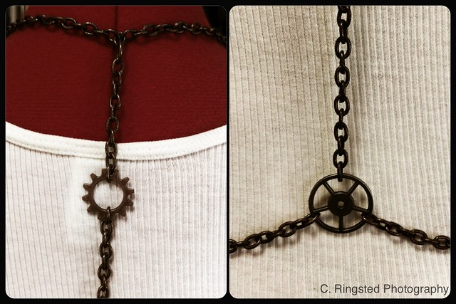 DIY: Chain Body Harness with Breast Plate