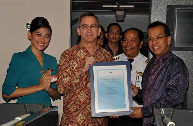 leadership of garuda ceo Arif wibowo, ceo, garuda indonesia q & a with nok air patee sarasin, ceo: aviation leadership forum: talent, disruption, innovation julieanne alroe, ceo & md.