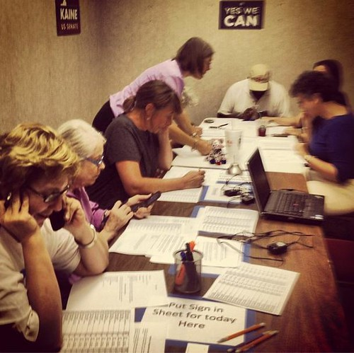 Roanoke phone bank