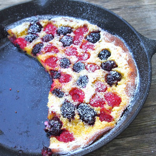 Dutch Baby with Fresh Berries