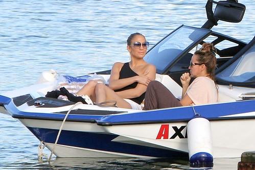 Jennifer Lopez and Casper in Rio de Janerio