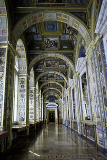 The Raphael Loggias in the Hermitage, St. Petersburg, Russia.