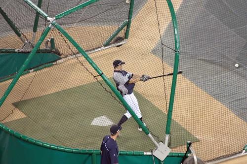 Ichiro takes BP