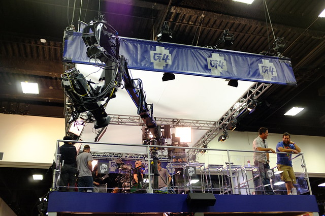 G4 stage at SDCC