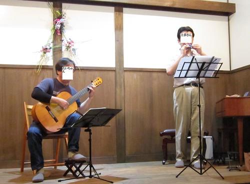 たいちゃんと土夢さん(オカリナ)の二重奏 2012年7月14日 by Poran111