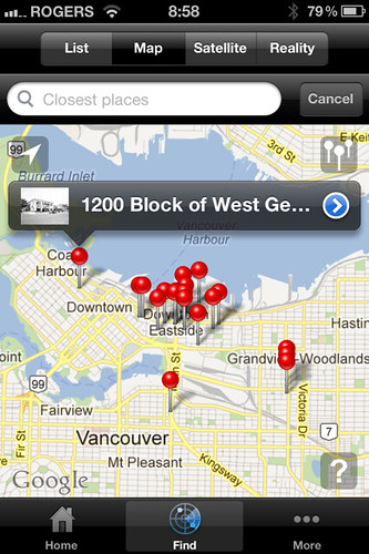 Vancouver Then and Now iPhone App
