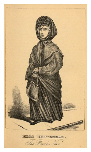 010- Miss Whitehead la monja del banco- The book of wonderful characters.. 1869- Henry Wilson- © Harvard University Library