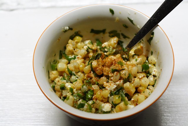 Eat More Broccoli - mexican street corn salad (esquites)
