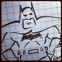 Time for a little Batman doodle.