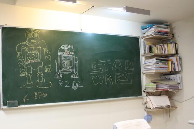 德語老師兒子畫的