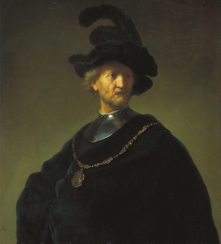 Rembrandt va Rijn - Old Man with a Gold Chain, 1631 at the Art Institute of Chicago IL by mbell1975