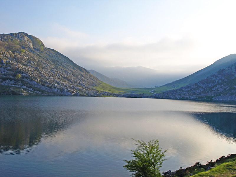 Glacial Lake in Picos de Europa, Asturias