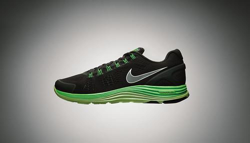 Nike LunarGlide+ 4 Black-Volt