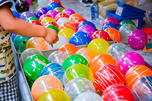 Yo-yo Balloons by hyossie