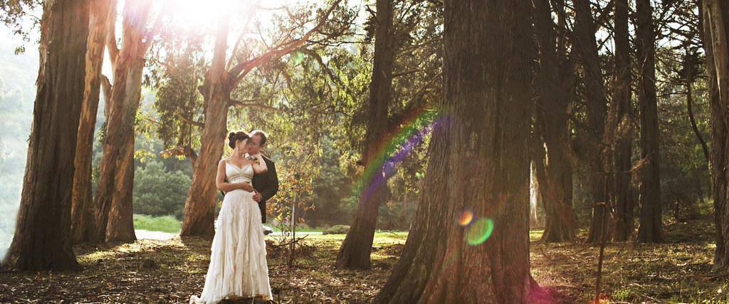 Wedding couple, Cavallo Point