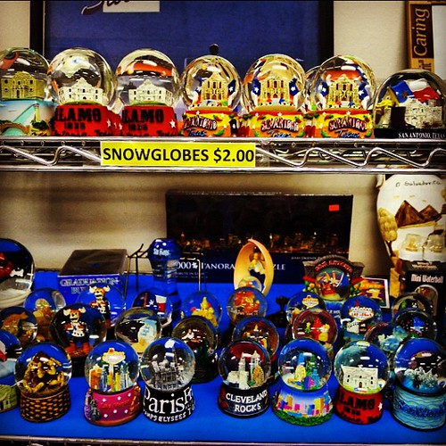 Surplus snow globes #austin #surplus