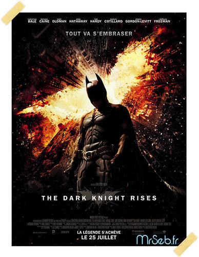 Affiche cinéma de The Dark Knight Rises