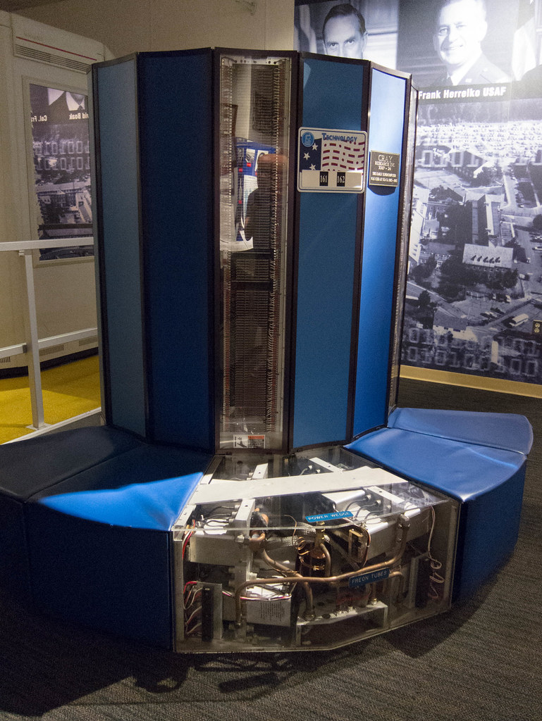 Cray XMP-24 Supercomputer