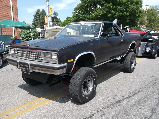 Craigslist Dc Cars >> 1987 Chevy El Camino 4X4 truck lifted | Seen at the car ...