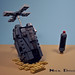 Halo ODST Drop Pod by Nick Brick